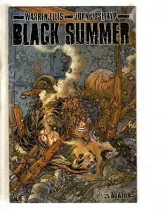 Lot Of 4 Comics Black Summer 1 2 + Savage Dragon 45 + Ash Cinder & Smoke 6 JD3
