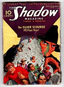 SHADOW 1933 July 15 Tommy gun cover-STREET AND SMITH-RARE PULP vg