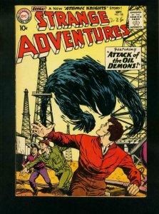 STRANGE ADVENTURES #120 1960-2nd ATOMIC KNIGHTS STORY-OIL DEMON- vf minus VF-