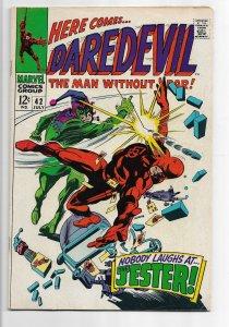 Daredevil #42 (1968) FN