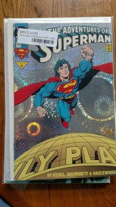 Adventures of Superman #505 (DC,1993) NM or Better
