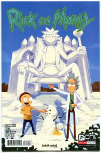RICK and MORTY #8, 1st, NM, Grandpa, Oni Press,from Cartoon 2015,more in store,V
