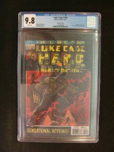 Luke Cage #166 Lenticular Cover Graded CGC 9.8 Marvel Hero for Hire #1