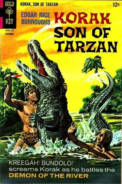 Korak: Son of Tarzan (1964 series) #20, VF- (Stock photo)