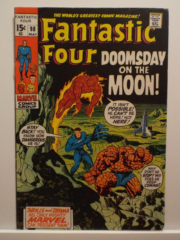 Fantastic Four (1961 1st Series) #98, FN/VF