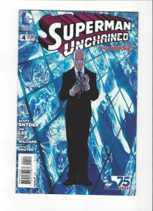 Superman Unchained #4 DC Comics New 52Mint