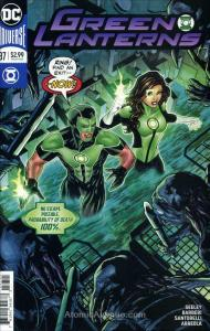 Green Lanterns #37 VF/NM; DC | save on shipping - details inside