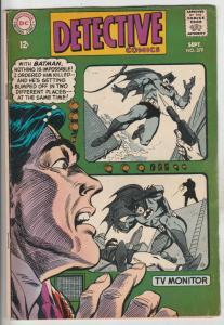 Detective Comics #379 (Sep-68) FN- Mid-Grade Batman, Robin the Boy Wonder