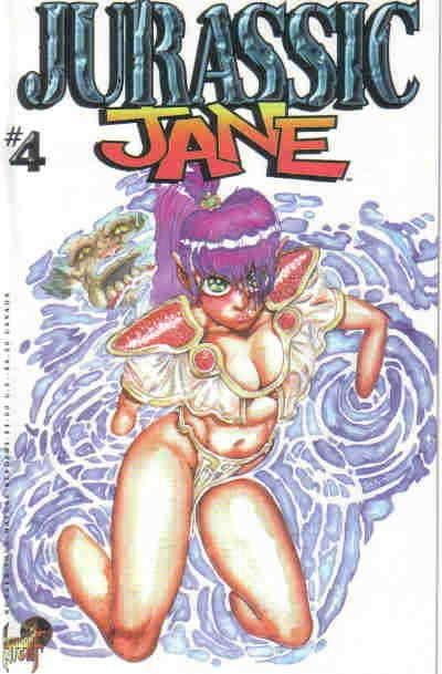 Jurassic Jane #4 VF/NM; London Night | save on shipping - details inside