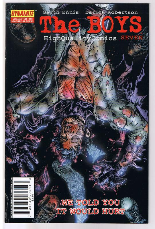 THE BOYS #7, NM-, Garth Ennis, Darick, Variant, 2006, more in store