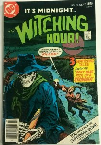 WITCHING HOUR#73 FN/VF 1977 DC BRONZE AGE COMICS