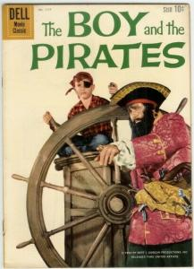 BOY & THE PIRATES (1960 DELL) F.C.1117 VG+ Charles Herb COMICS BOOK