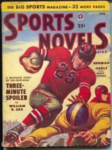 Sports Novels 1/1951-Popular-baseball-boxing-basketball-football-VG