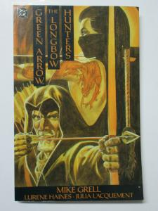 Green Arrow- the Longbow Hunters (DC 1989 1st Printing) tpb Mike Grell