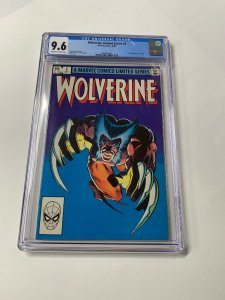 Wolverine Limited Series 2 Cgc 9.6 Ow/w Pages Marvel 1982 2060494001 1st Yukio