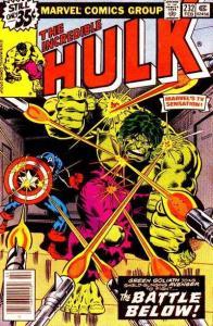 Incredible Hulk (1968 series) #232, Fine (Stock photo)