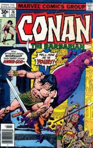 Conan the Barbarian (1970 series) #76, Fine (Stock photo)