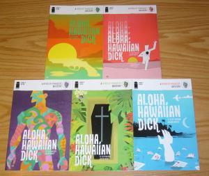 Aloha, Hawaiian Dick #1-5 VF/NM complete series - a byrd of paradise mystery