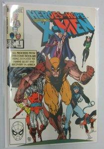 Heroes for Hope Starring the X-Men #1 minimum 9.0 NM (1985)