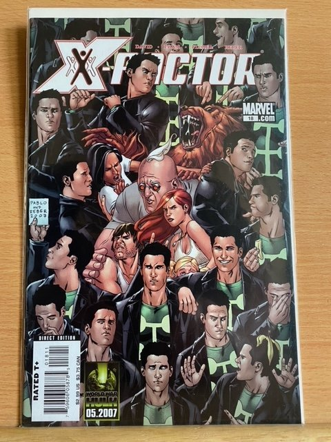 X-Factor annuals 2,3,6 issues 17,18,19,35,36,38,39 and 42 (2009)