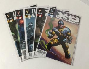 X-O Manowar 1-2 Harbinger 1-2 NM Near Mint Valiant A44