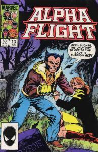 Alpha Flight (1st Series) #13 VF/NM; Marvel   save on shipping - details inside