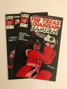 SET!! -Solson -THE TEXAS CHAINSAW SAMURAI #1 & SAMURAI THE 13TH #2 VF/NM  (A84)