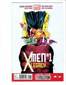 X-Men Legacy #1 Marvel 2013 NM 9.4+ Mike Del Mundo cover