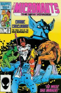 Micronauts (Vol. 2) #20 FN; Marvel | save on shipping - details inside