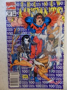 NEW MUTANTS # 100 LIEFELD HOT MOVIE LAST ISSUE PURPLE COVER