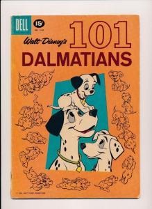 Walt Disney's 101 Dalmatians #1183 DELL Comics 1961 ~ GD/VG (HX456)