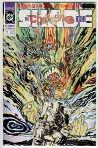 SHADE #1, Vertigo, Peter Milligan, Electric Chair, NM+, 1990, Chris Bachalo