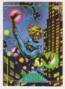1993 Marvel Universe #23 Speedball