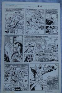 RICH BUCKLER / TANGHAL original art, FANTASTIC FOUR #330, Signed, Thor, Eternals