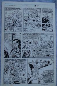 RICH BUCKLER / TANGHAL original art, FANTASTIC FOUR #330, Signed, Thor, Eternals