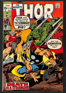Thor #178  Marvel Comics