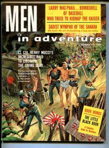 Men In Adventure 12/1960-war-crime-cheesecake-U.S. Rangers-spicy art-FN/VF