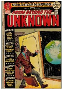 FROM BEYOND THE UNKNOWN 15 VG-F Mar. 1972