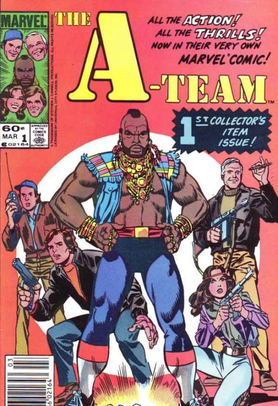 A-Team, The #1 (Mar-84) NM- High-Grade A-Team