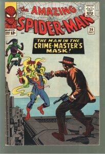 AMAZING SPIDERMAN 26 VF/VF+ 8.0-8.5 1st APP CRIME MASTER;GUARANTEED GRADE