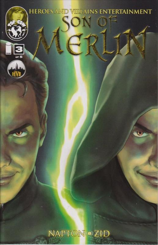 Son of Merlin #3 VF/NM; Image | save on shipping - details inside