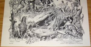 Tim Conrad's the Nightmares portfolio - limited to 2,000 - 1982 schanes