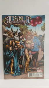 Angela Asgard's Assassin #2 1:20 Incentive Welcome Home Variant Cover 2015