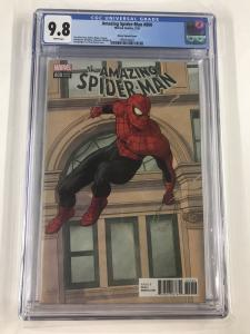 Amazing Spider-man 800 Cgc 9.8 Rivera Variant
