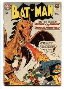 BATMAN #155 -RETURN OF THE PENGUIN comic book 1963-ROBIN-DC