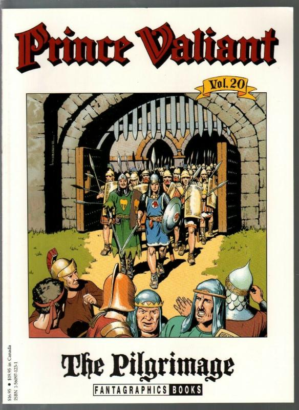 Prince Valiant #20 1990-Fantagraphics-color reprint-Hal Foster-Pilgrimage-VF