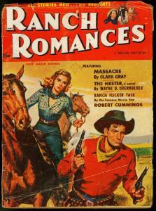 RANCH ROMANCES MARCH 1953 PATHFINDER GEORGE MONTGOMERY VG