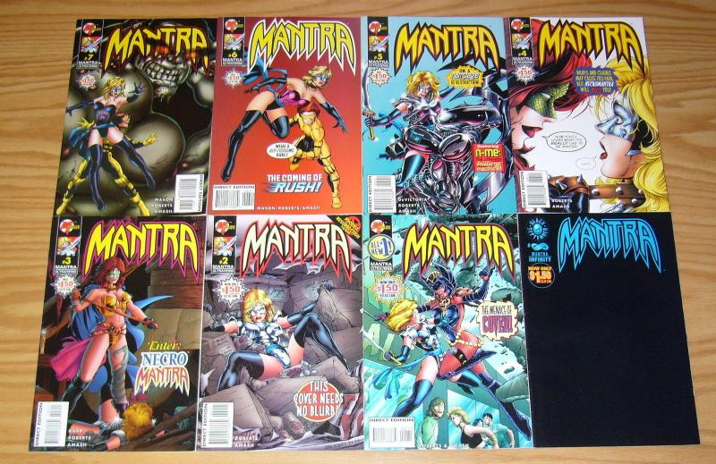 Mantra vol. 2 #∞ & 1-7 VF/NM complete series - malibu ultraverse infinity set