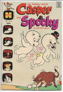Casper and Spooky the Tuff Little Ghost #3 Feb. 1973 (VF)