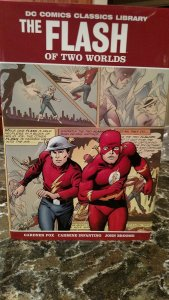 The Flash of Two Worlds - DC Comics Classics Library - Hardcover - Never Read